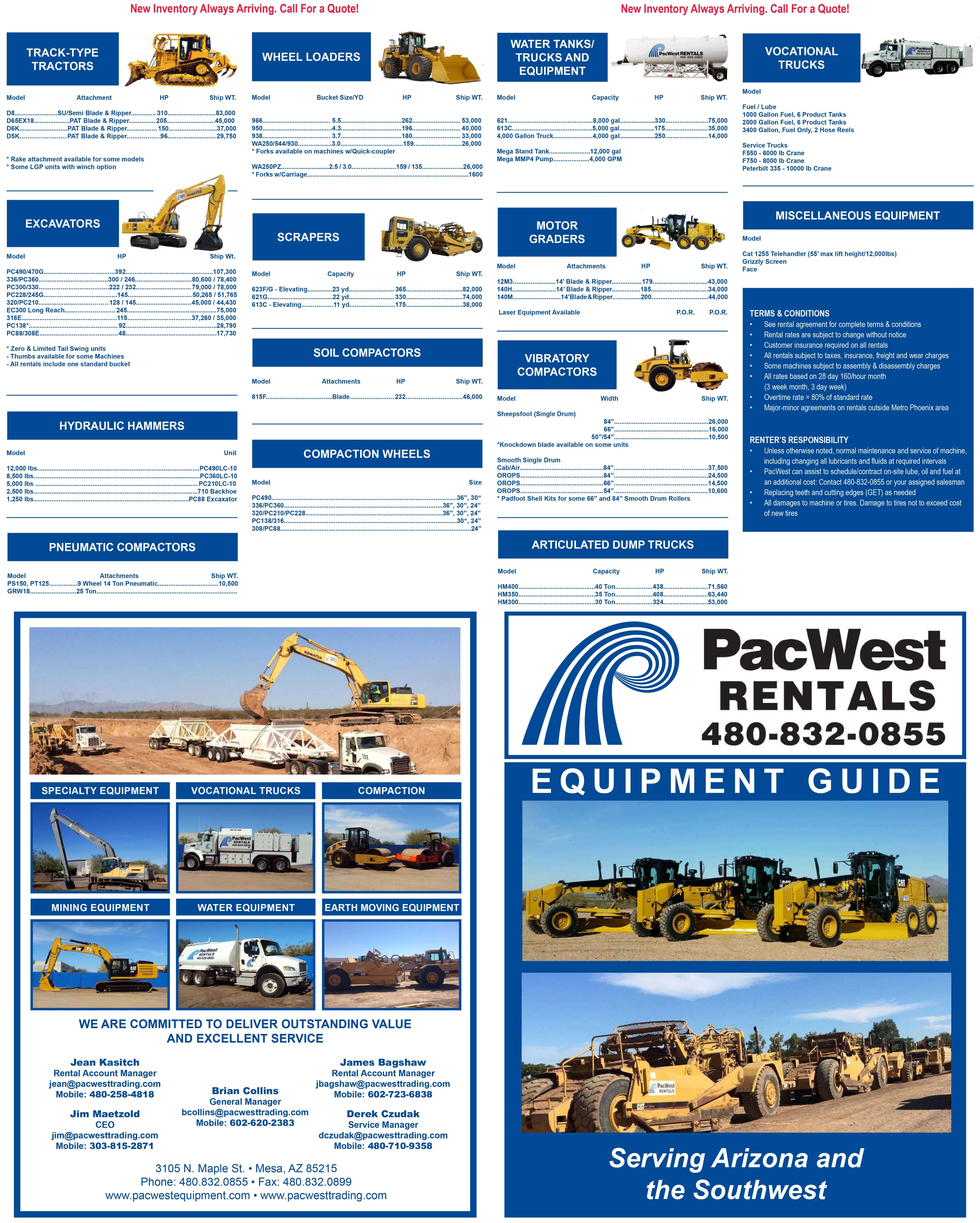 Construction Equipment For Rent - 0 Listings | www